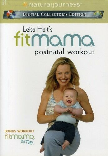 DVD Leisa Hart's FitMama Postnatal Workout Fit Mama~LNw