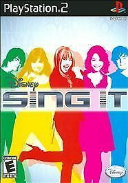 PS2 Disney Sing It Playstation 2 Game Only~Complete Exc. Condition~Fast Ship