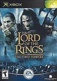 Xbox Lord of the Rings Two Towers EA Games LkNw Fast Ship!