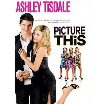 DVD Picture This Ashley Tisdale Robbie Amell Comedy Movie~LkNew~Fast+CombShip