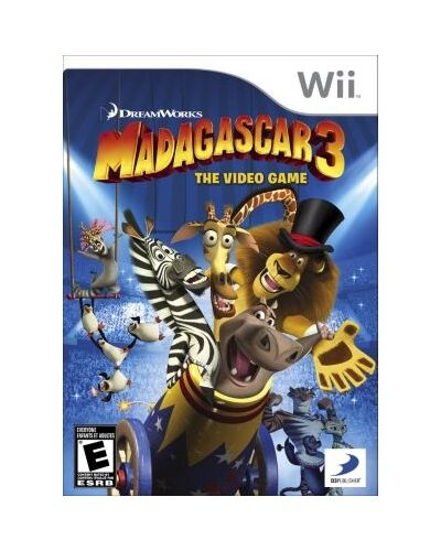 Madagascar 3: The Video Game  (Wii, 2012) Brand New Still Sealed