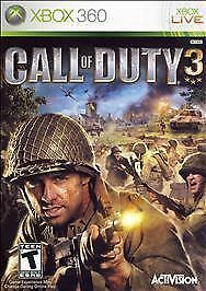 Xbox 360 Call of Duty 3 Game Fast Ship