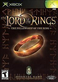 Xbox Lord of the Rings Fellowship of the Rings LkNw Fast Ship!