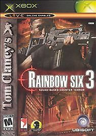 Xbox Tom Clancys Rainbow Six 3 Live Oline Enabled LkNw FAST SHIP!