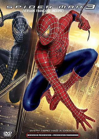 DVD Spider-Man 3 Widescreen Kirsten Dunst Tobey Maguire Sam Raimi Spiderman Film