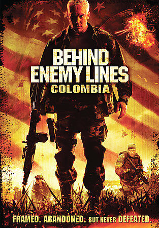 DVD Behind Enemy Lines: Colombia~Mr. Kennedy Channon Roe Keith David Movie