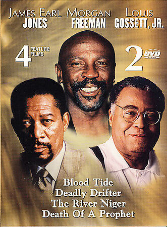 DVD Blood Tide/Deadly Drifter/River Niger/Death Prophet 4 Movies Films Set