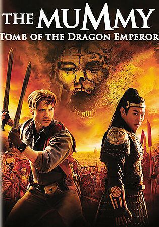 DVD Mummy Tomb of the Dragon Emperor~Jet Li Maria Bello Brendan Fraser Film~LkNw