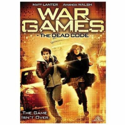 DVD War Games The Dead Code~Matt Lanter Amanda Walsh Movie~LkNew~Fast+CombShip