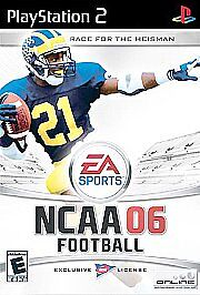 PS2 NCAA Football 06 Heisman Complete game LKn