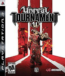 PS3 Unreal Tournament III~Playstation 3 Game~Very Good Condition~Fast+Comb Ship