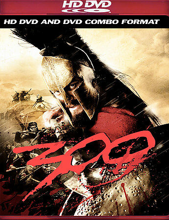 300 (HD DVD, 2007) VERY GOOD