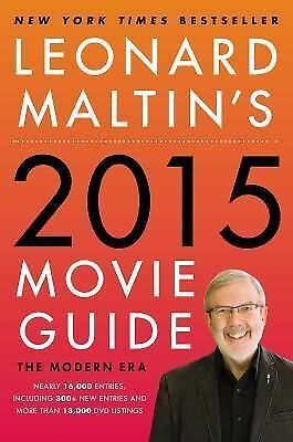 Leonard Maltin's 2015 Movie Guide NEW