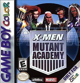 X-Men: Mutant Academy (Nintendo Game Boy Color, 2000)