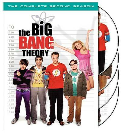 The Big Bang Theory Complete Second 2nd 2 Two Season  Factory Sealed NEW DVD