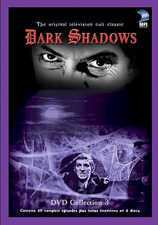 Dark Shadows - Collection 3 (DVD, 2002, 4-Disc Set, Four Disc Box)