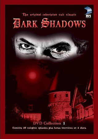 Dark Shadows - Collection 1 (DVD, 2002, 4-Disc Set, Four Disc Boxed Set)