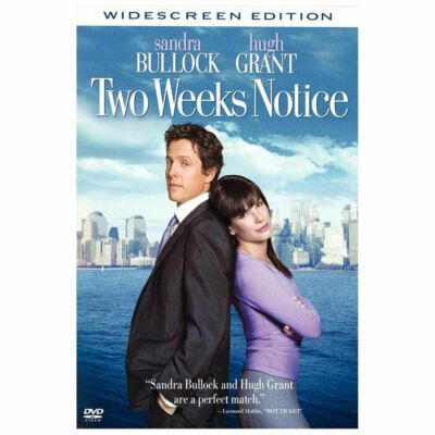 Two Weeks Notice (DVD, 2003, Widescreen)