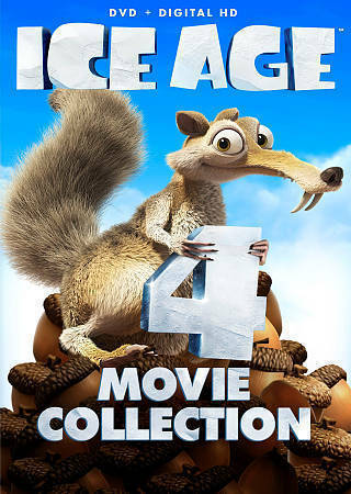Ice Age 4-Movie Collection HD DVD With $7.50+ cert. for Collision Course Movie