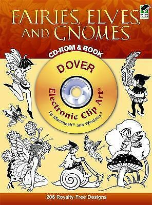 Fairies, Elves, and Gnomes CD-ROM and Book Dover Electronic Clip Art