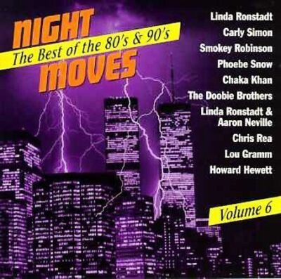 #088 SEALED Uncut DCC CD Night Moves: Vol 6 - Linda Ronstadt / Aaron Neville