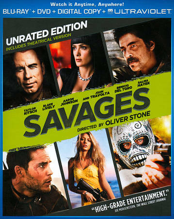 Savages - Unrated Edition Blu-ray + DVD + Digital Copy + UltraViolet