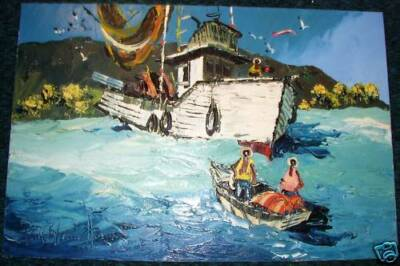 Paul Blaine Henrie - Acrylic Painting - Sea - Boating
