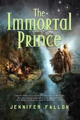 The Immortal Prince 1 by Jennifer Fallon (2008, Hardcover) First US Edition NICE