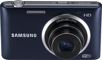 Samsung ST150F 16.2 MP Digital Camera - Cobalt Black