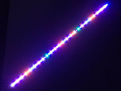 "Aquarium LED Light Bar 48"" ReefBar Pro Full Spectrum 48 x 3W Bridgelux 55 75 gal"
