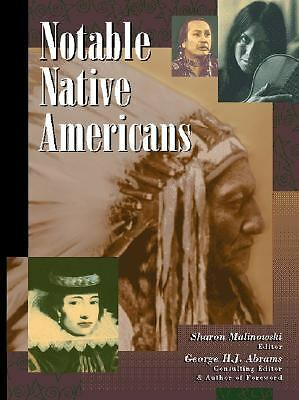 Notable Native Americans 1, Sharon Malinowski, Good Book