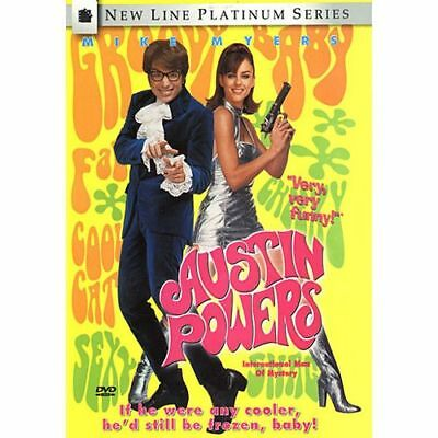 Austin Powers: International Man of Mystery (DVD, 1997)  Watched Once or Twice!