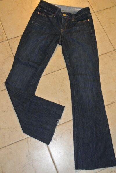 Womens size 25/Or Dark Gap 1969 long and lean jeans