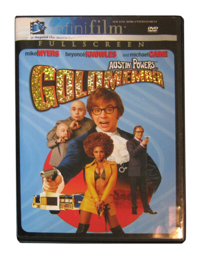 Austin Powers in Goldmember (DVD, 2002, Full Frame; Infinifilm Series)
