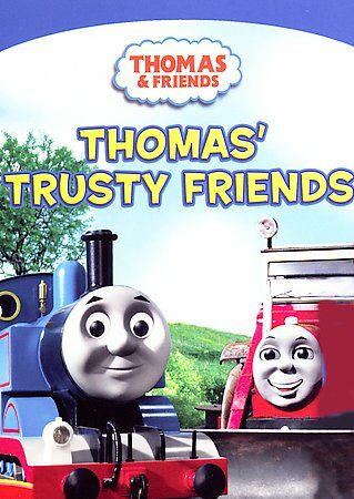 DVD Thomas & Friends Trusty Friends~3 Other Train Adventures Kids Movie FastShip