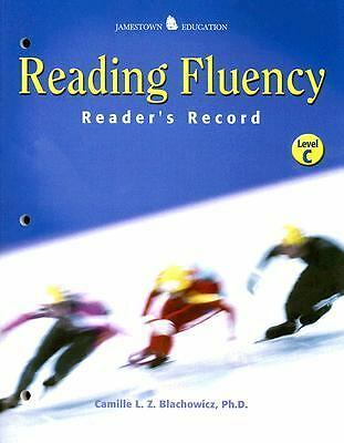 Reading Fluency: Reader's Record C, Camille Blachowicz, Good Book