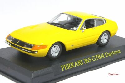 Cars FERRARI 365/4 Daytona Coupè 1:43 Pininfarina Official Licensed Altaya Ixo