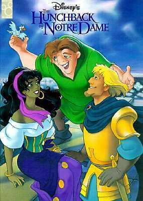Disney's Hunchback of Notre Dame Reading Book