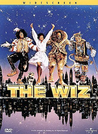 DVD Wiz The Movie Diana Ross Michael Jackson Rob Cohen Motown Widescreen NEW NIP