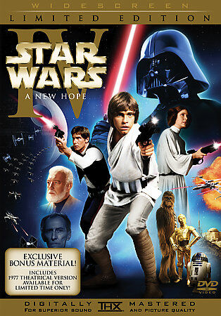 Star Wars IV - A New Hope  (DVD, 2006, 2-Disc Set, Limited Edition; Widescreen)