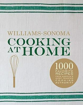 Cooking at Home by Chuck Williams and Kristine Kidd (2010, Hardcover)