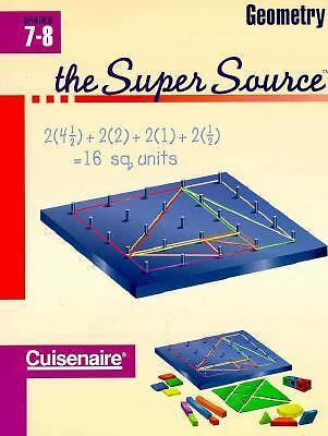 Geometry: Grades 7-8 (The Super Source), , Very Good Book