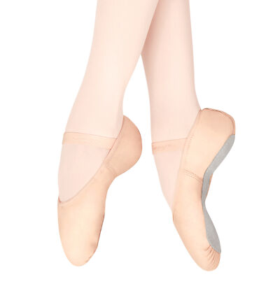 CAPEZIO ® 207 Gracie Adult Womens  full sole,  leather, pink ballet shoe