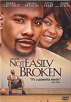 DVD Not Easily Broken Morris Chestnut Taraji P. Henson Movie~LkNew~Fast+CombShip