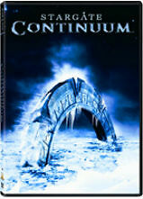 DVD Stargate Continuum Star Gate Ben Browder Martin Wood 2008 Sci-Fi Movie