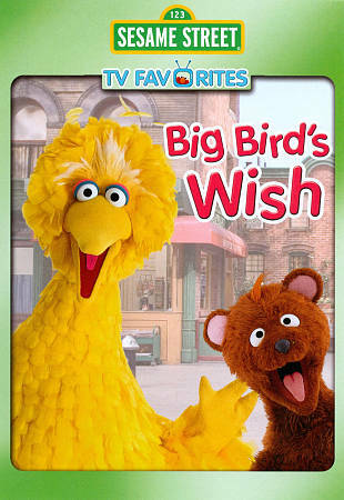 Sesame Street: Big Bird Wishes the Adults Were Kids (DVD, 2011) Sealed New