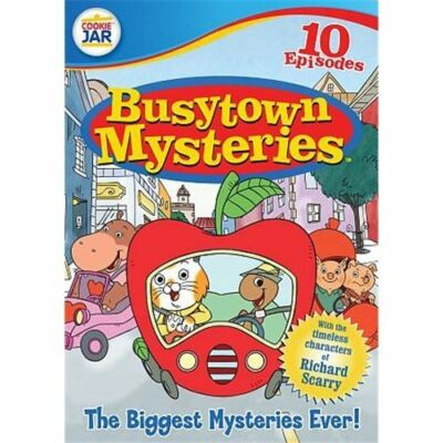 Busytown Mysteries: The Biggest Mysteries Ever! (DVD, 2010)