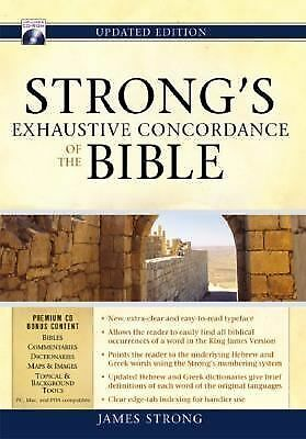 Strong's Exhaustive Concordance of the Bible [With CDROM], Strong, James, Good B