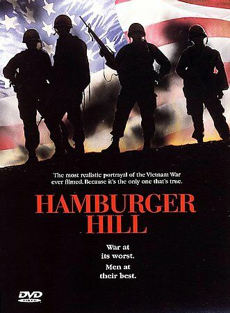 DVD Hamburger Hill~Michael Dolan John Irvin Vietnam War 1969~LkNew Movie