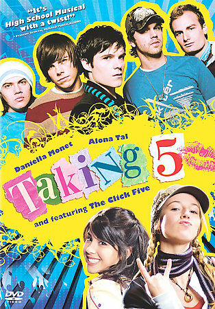 DVD Taking 5~Christy Carlson Romano, Alona Tal Comedy~LkNew Movie